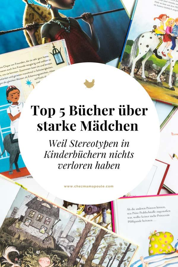 Bücher über starke Mädchen. Bilderbücher ohne Sexismus und Genderismus. Kinderbücher mit Feminismus und Gleichstellung. Blick ins Buch auf: www.chezmamapoule.com