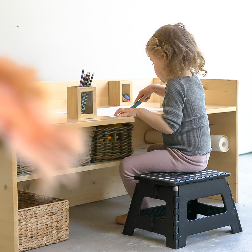 DIY Kindertisch 2018 Chezmamapoule