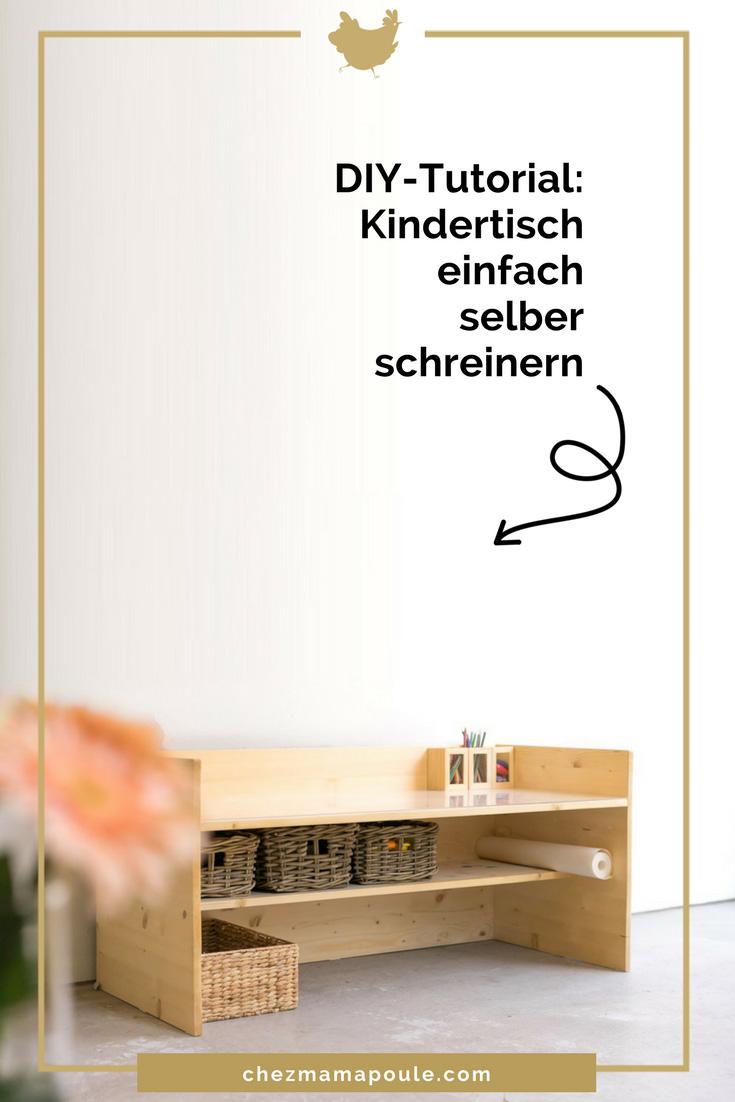 DIY Kindertisch 2018 www.chezmamapoule.com