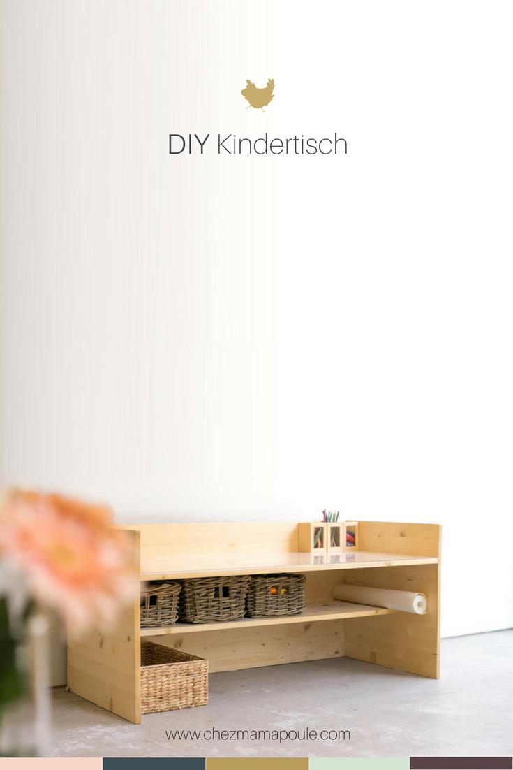 Pin DIY Kindertisch www.chezmamapoule.com