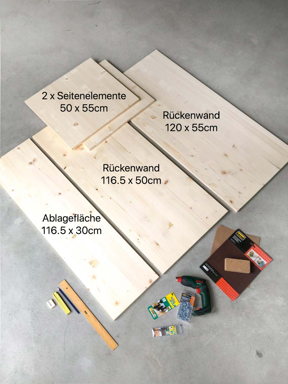 DIY Kindertisch www.chezmamapoule.com