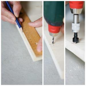 Schritt 1: DIY Kindertisch 2018 www.chezmamapoule.com