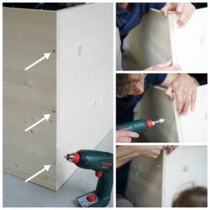 Schritt 2: DIY Kindertisch 2018 www.chezmamapoule.com