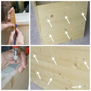 Schritt 3: DIY Kindertisch 2018 www.chezmamapoule.com
