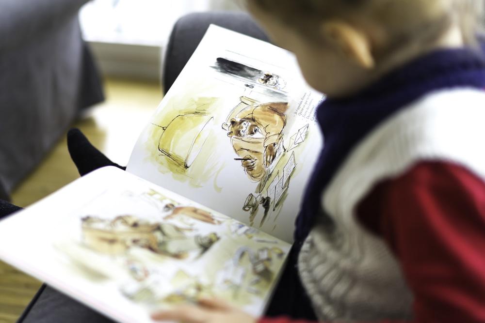 Bilderbuch über Weihnachten: Ernest und Celestine