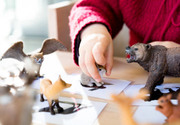 Montessori Tiere zurodnen DIY www.chezmamapoule.com