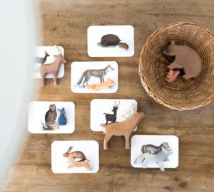 Tiere zuordnen Montessori DIY mit Ostheimer Tieren // Chez Mama Poule