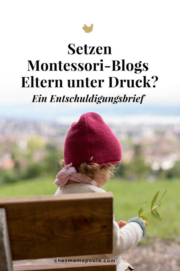 Können Montessori-Blogs Eltern unter Druck setzen? Montessori Mythen geklärt auf: www.chezmamapoule.com