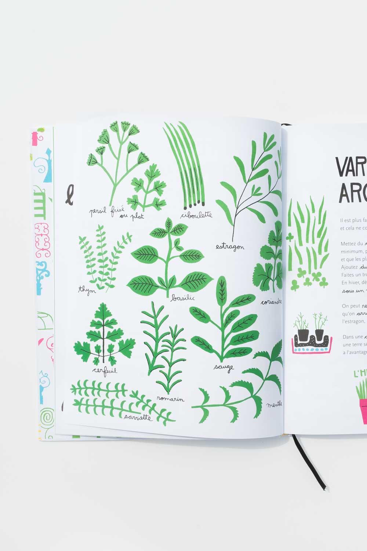 """Sommer mit Mama Poule: Sommerbücher """"Le grand livre de jardinage des enfants"""" von Caroline Pellissier www.chezmamapoule.com"""