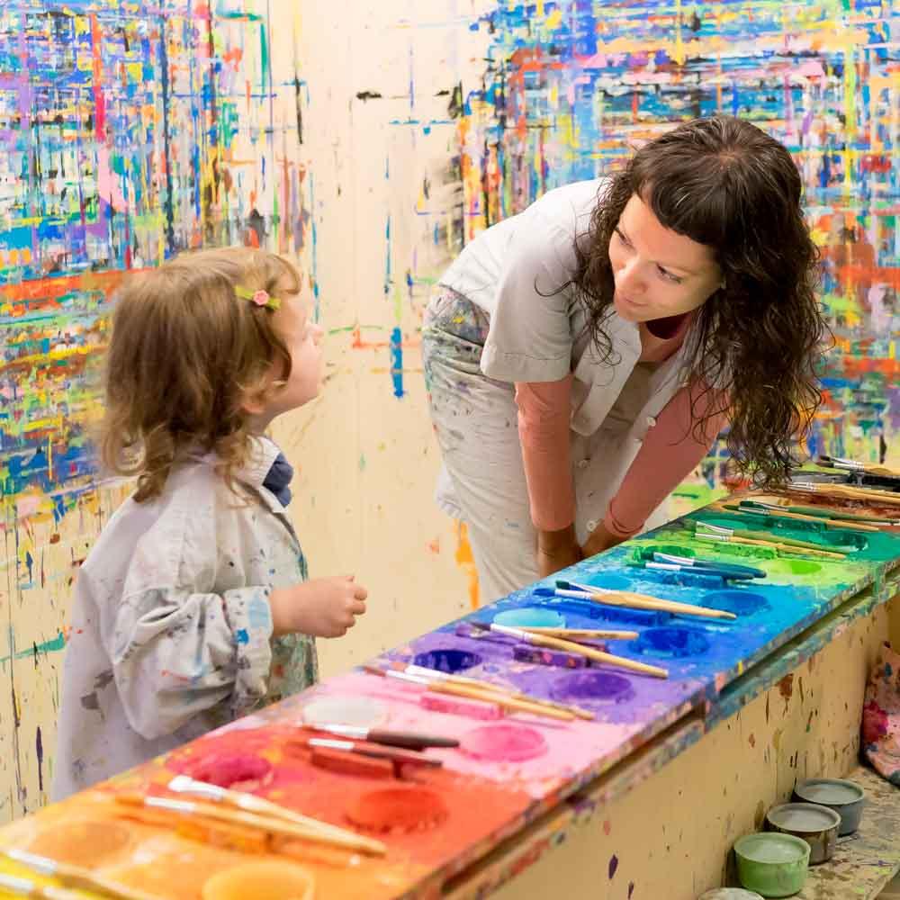 Kinder Und Ihre Bilder Was Wir Sagen Konnen Statt Sie Zu Loben