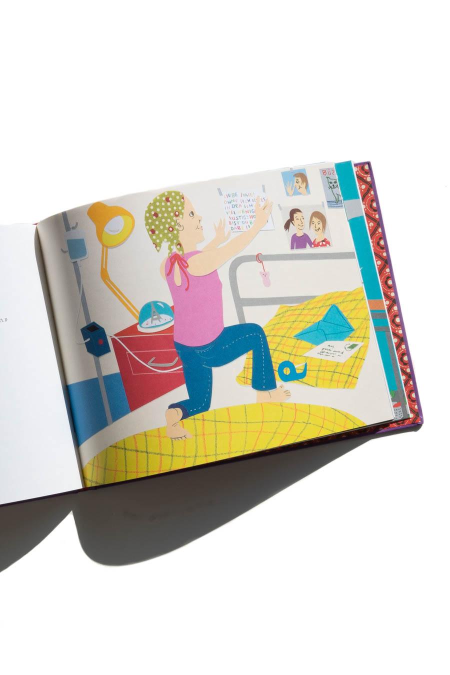 Leukämie bei Kindern: Wie spricht man mit Kindern über Leukämie? Inkl. #Buchtipp «Julie ist wieder da». Weiterlesen auf: www.chezmamapoule.com #kommunikation #mitkindernaufaugenhöhe #kinderbücher #bilderbücher #leukämie #4von5 #kinderkrebsschweiz #thoughtsforachild
