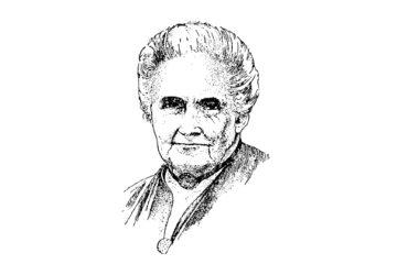 Wer war Maria Montessori? Mehr lesen auf: www.chezmamapoule.com #reformpädagogik #montessori #spielideen #attachmentparenting #Kinder #Loben #Kita #Kindergarten #Schule #unerzogen