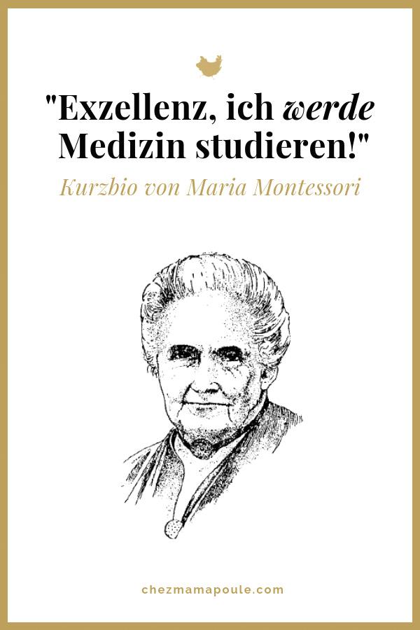 Wer war Maria Montessori? Kurzbio der römischen Ärztin und Pädagogin. Sehr lesenswert für alle #Montessori, #Unerzogen und #AttachmentParenting -interessierte Eltern. Mehr auf dem Blog: www.chezmamapoule.com #montessorizuhause #erziehung #kinder #lebenmitkindern #mariamontessori #freilernen #reformpädagogik #feminstinnen #geschichte #feminismus