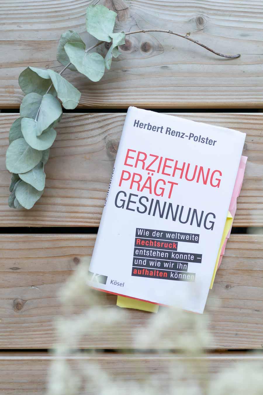"""Gute Kindheit und weshalb unsere leuchtenden Augen dafür wichtig sind. Herbert Renz Polsters Buch """"Erziehung prägt Gesinnung"""" #bindungsorientiert"""