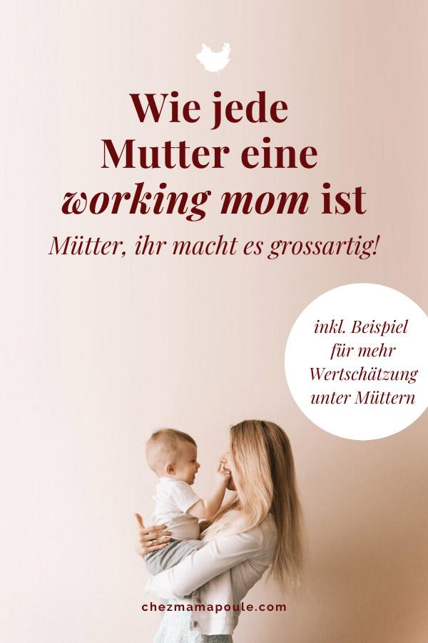Working mom - ein Plädoyer gegen Schubladen