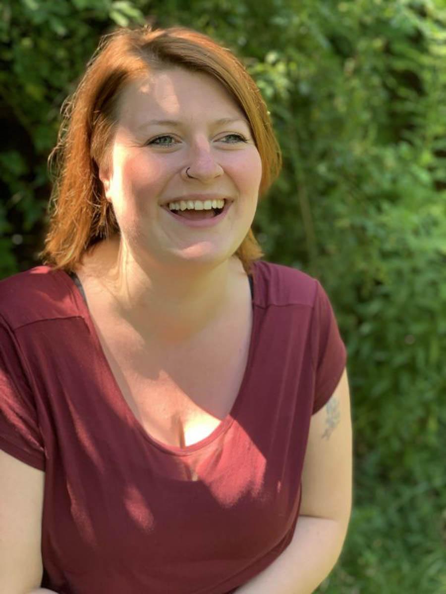 Hochsensibel Mama sein: Autorin Kathrin Borghoff