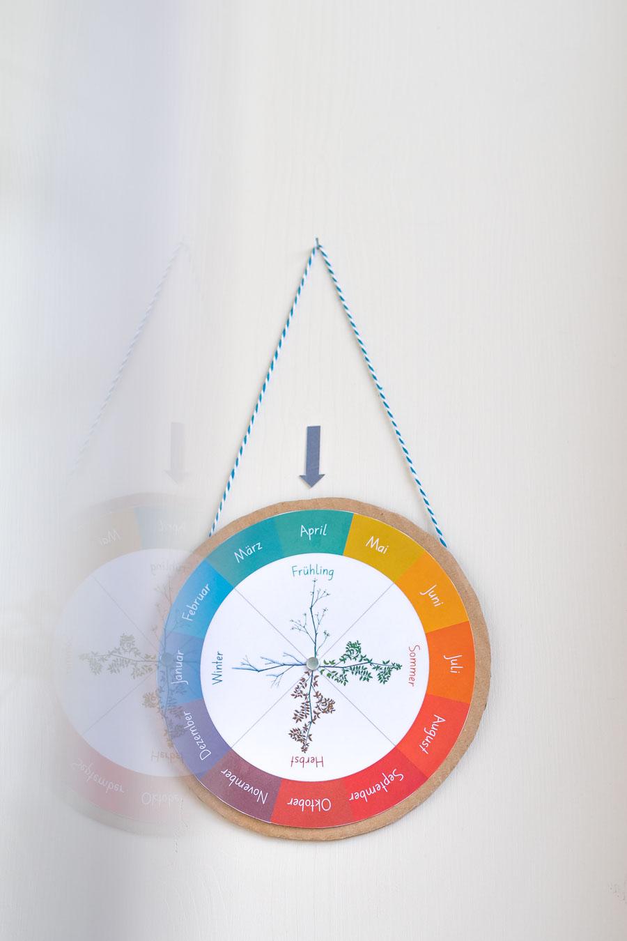 Jahreskreis Drehscheibe für Kleinkinder
